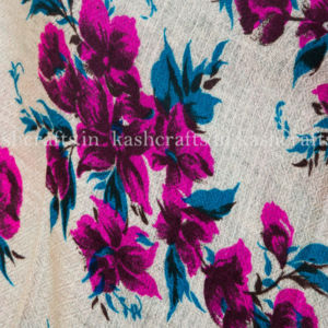 Cashmere Wool Beautiful Print Scarf