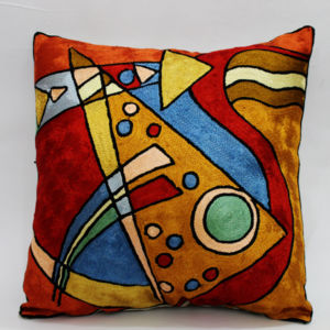 Handmade Silk Pillow