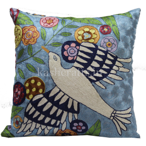 Kashcrafts Bird of Peace Cushion