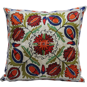 Handmade Silk Cushion Cover
