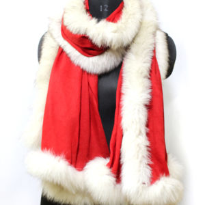 Cashmere Fur Wraps