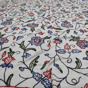 Hand Embroidery Double-Bed Cover