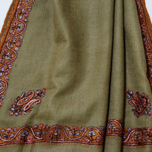 Embroidered Cashmere Wraps