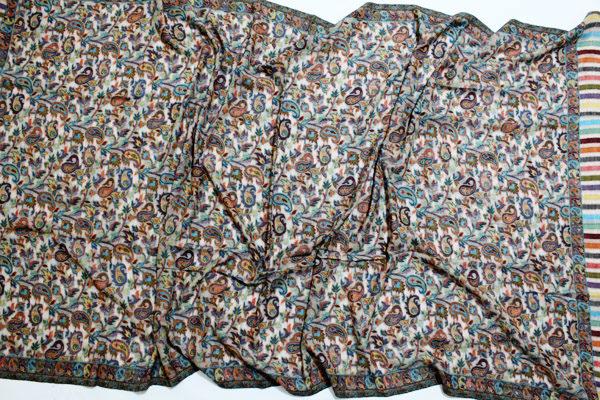 Cashmere Woven Jamawar Wraps
