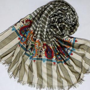 Handwoven Pashmina Gents Kani Wrap