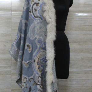 Cashmere Sonata Fox Wrap