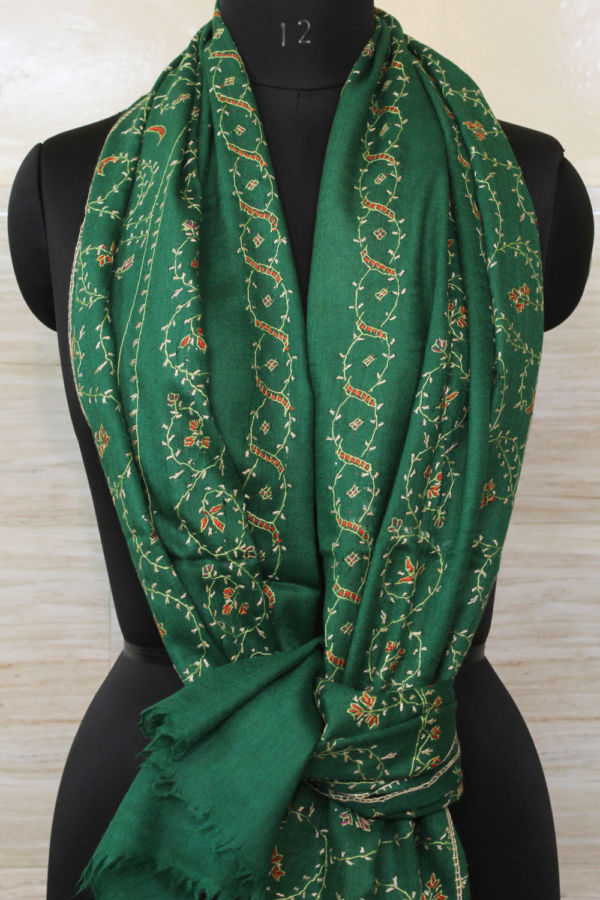 Luxury Sozni Clover Green Ascots