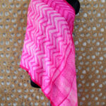 Cashmere Hand Dyed Pink Wrap