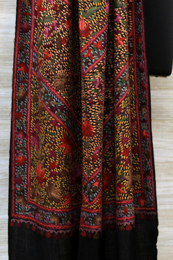 Autumn Garden Luxury Pashmina