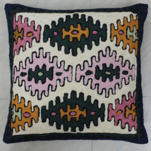 Kashmir Kilim Tribal Pillowcase