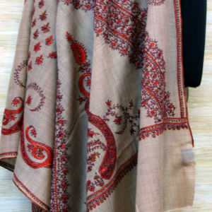 Typical Cashmere Paisley Shawl