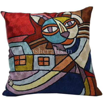 Handmade Modern Art Pillowcase