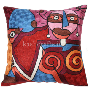 Martini By Picasso Artwork Pillow