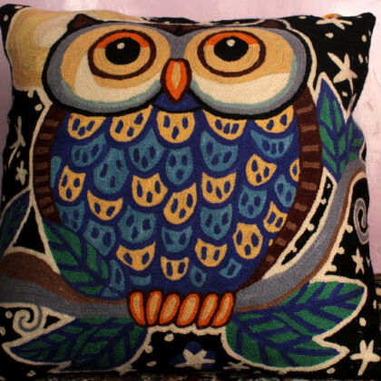 Midnight Owl Pillowcase