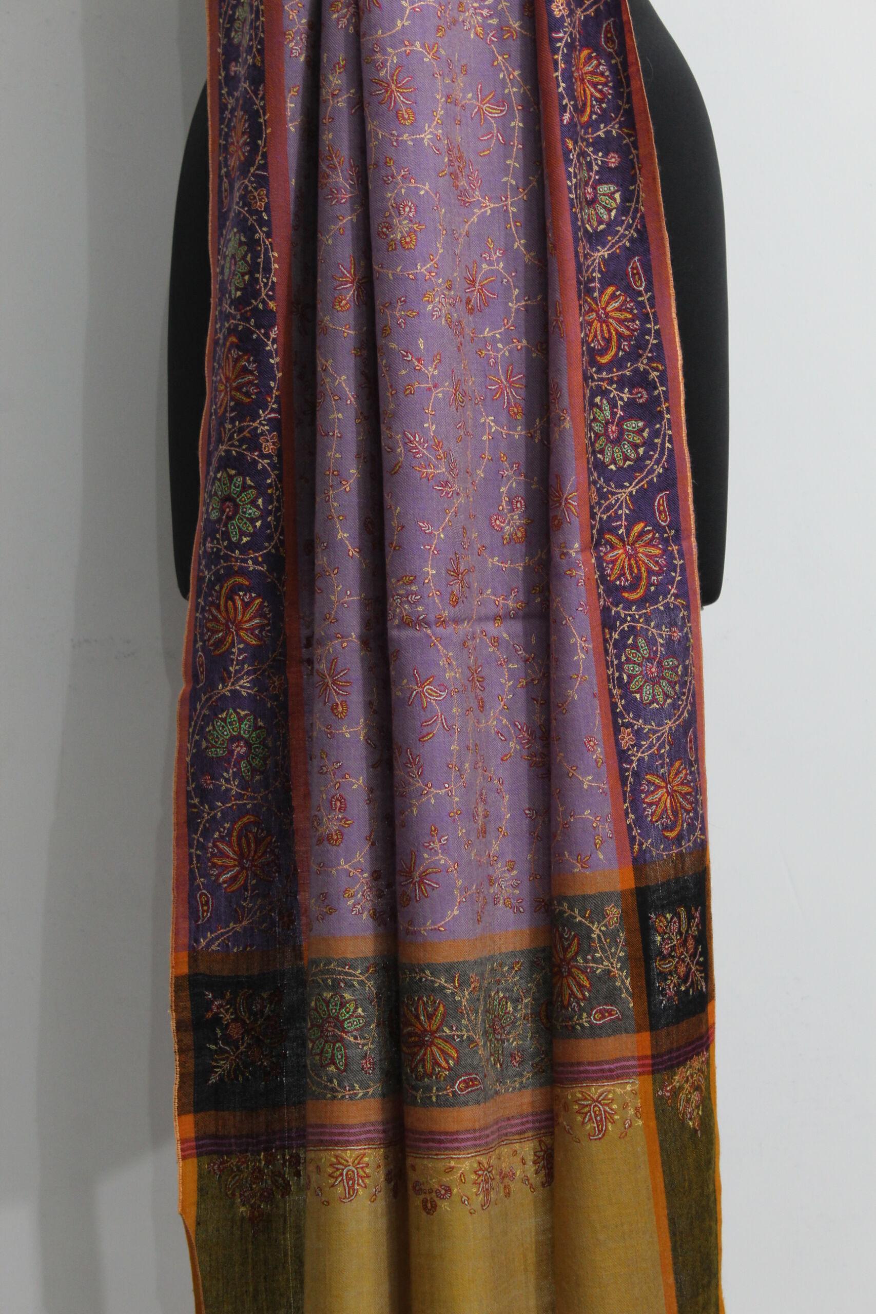Pashmina Lilac Classic Wrap