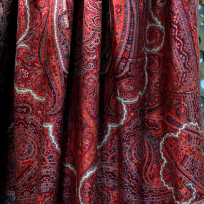 Antique Paisley Pashmina Wrap