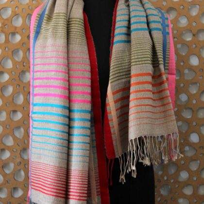 Cashmere Autumn Stripe Hijab