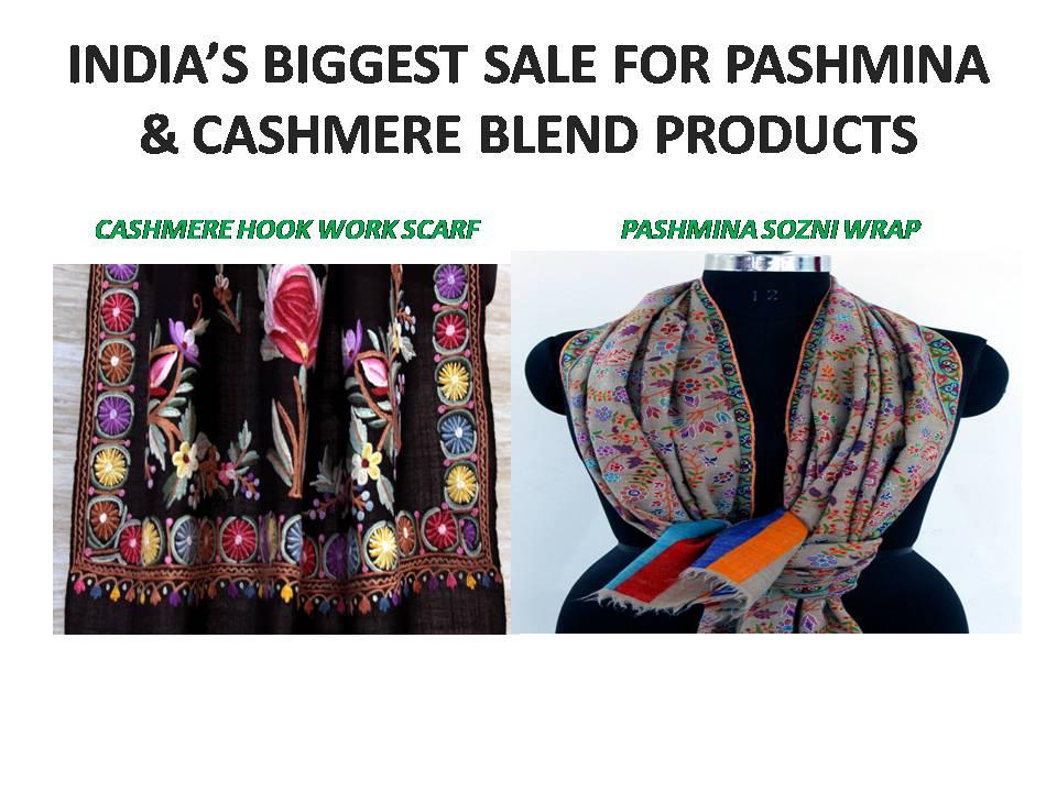 Kashmir Pashmina Shawls